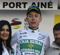 KMC贊助車手Hugh Carthy贏得環加泰隆尼亞最佳年輕車手
