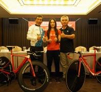 KMC全力支持國手蕭美玉 打造國車騎進奧運